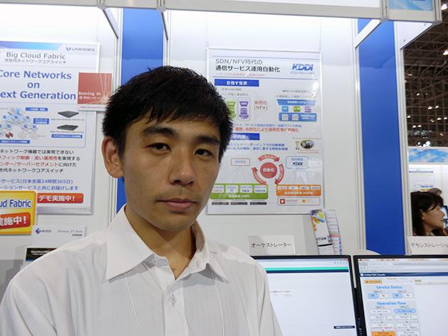 株式会社KDDI研究所統合コアネットワーク制御グループ研究主査 黒木圭介氏