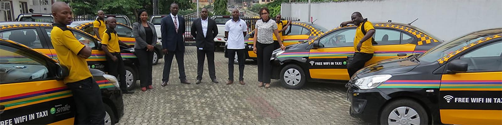 ナイジェリアのMetroタクシー、無料Wi-Fi提供