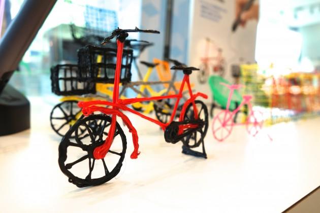 3Doodler 2.0で作られたバイク