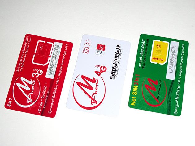 LTCのSIMカード。