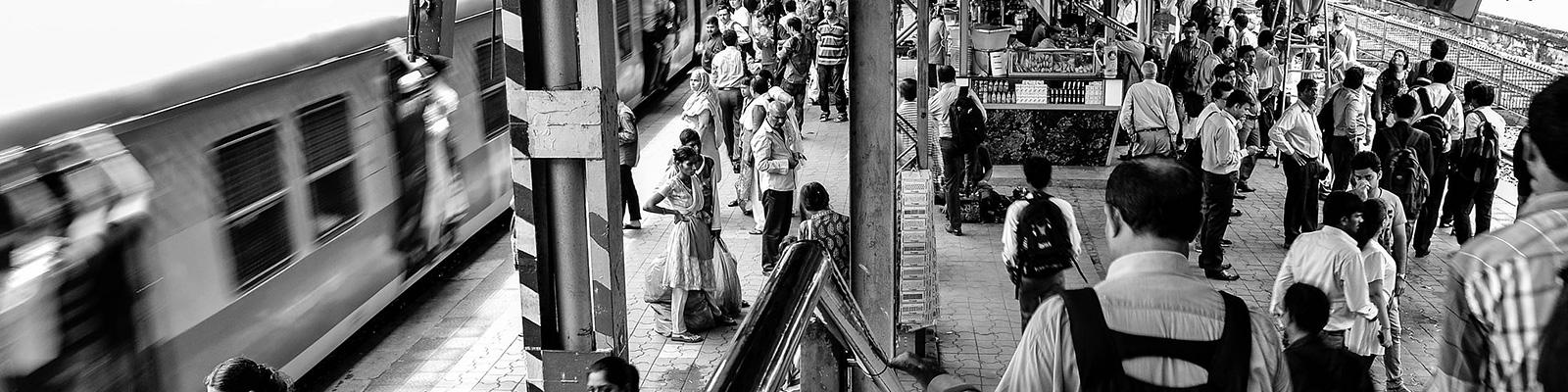 インド 駅
