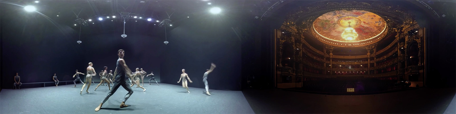 Clear, Loud, Bright, Forward 360° by Benjamin Millepied