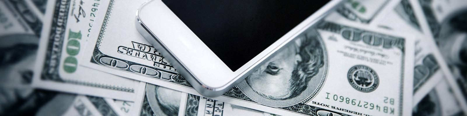 スマートフォン お金