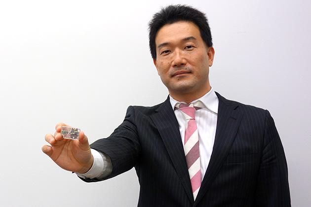 アルプス電気 民生・新市場業務部担当課長 稲垣一哉氏