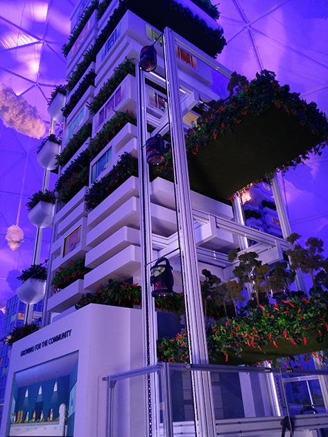 ロボットのように駆動する家庭菜園