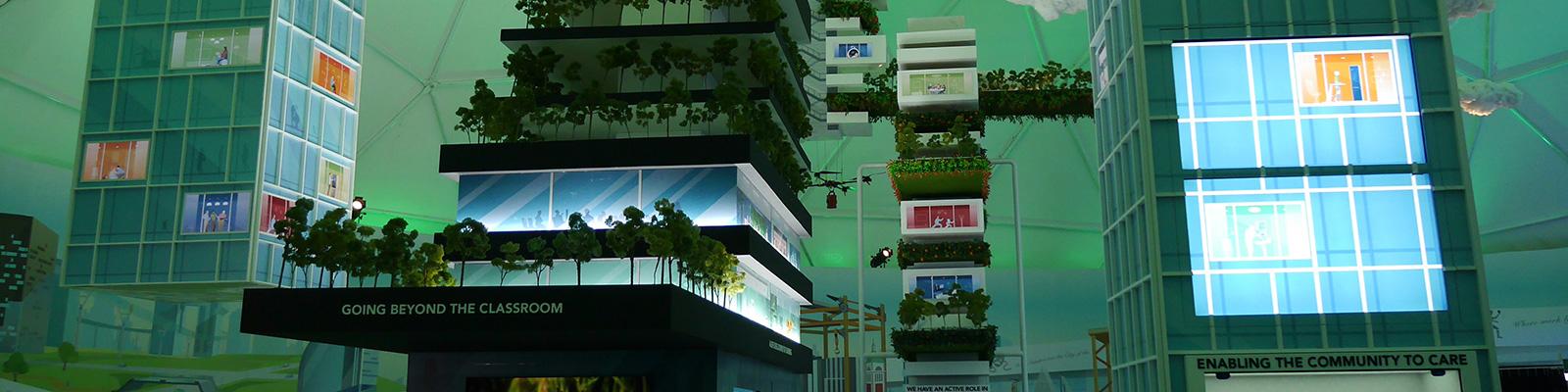 """展示会 """"Furure of Us"""" で、スマートシティの形が見えてきた"""