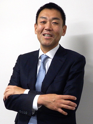 コマツ 執行役員 スマートコンストラクション推進本部長 四家 千佳史氏