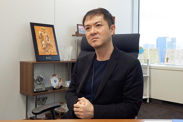 株式会社オプティム代表取締役社長 菅谷俊二氏