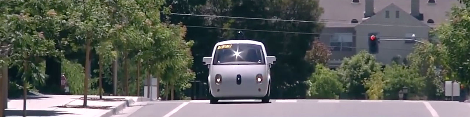 Close-Up Look At Google's Self-Driving Car(CBS SF Bay Area)
