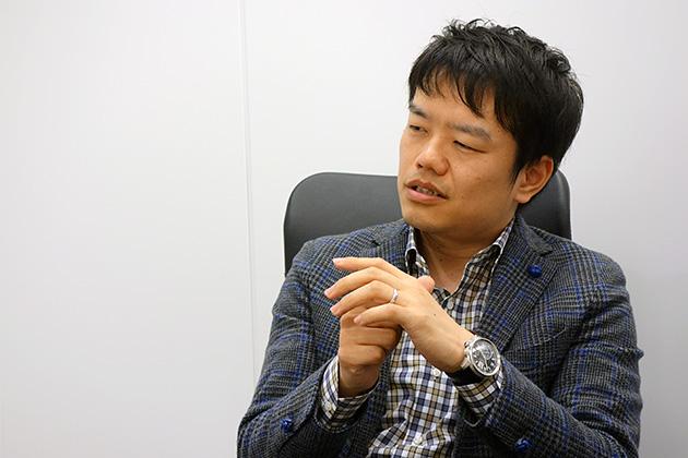 エスキュービズム・テクノロジー 代表取締役社長 武下真典氏