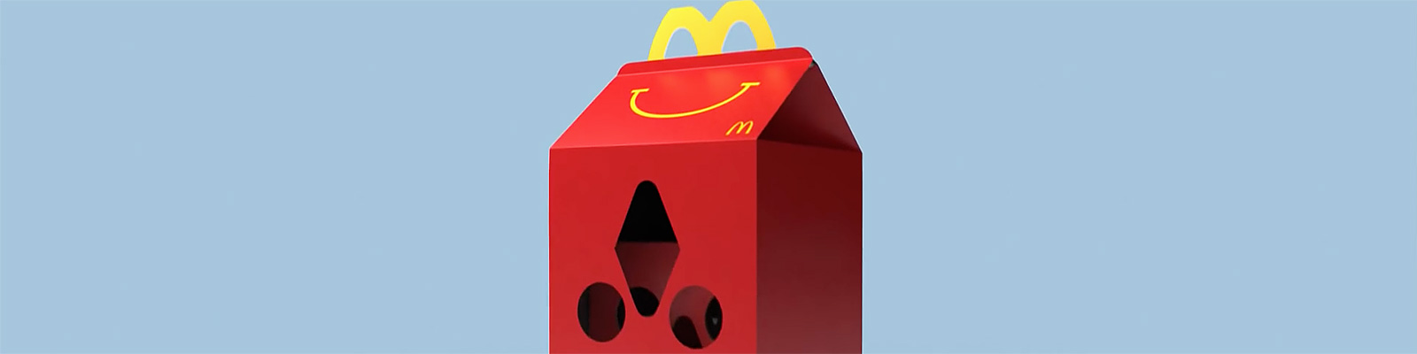 Happy Goggles - A virtual reality headset made from a Happy Meal Box.(McDonald's Sverige)