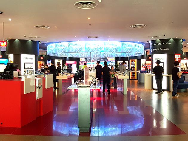 STMの本社に併設されているSTMの販売店。