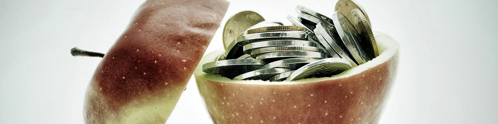 アップル お金