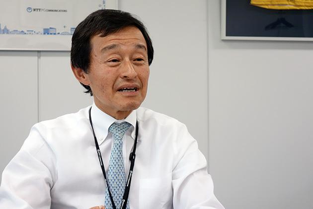 NTTPCコミュニケーションズ 代表取締役社長 前沢孝夫氏
