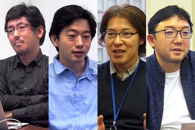 林達也/真武信和/金子剛哲/クロサカタツヤ