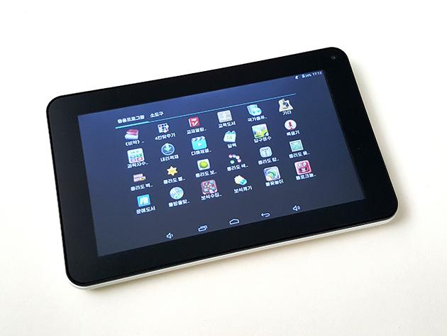 Achim AC-01-191にプリインストールされているアプリの一部。