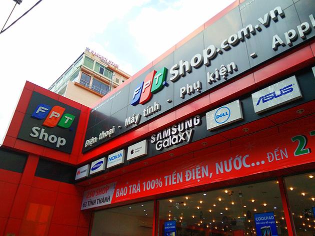 FPT傘下のFPT Digital Retailは携帯電話小売業を手掛けており、FPT Shopを展開している。