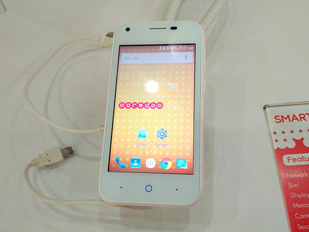 Ooredoo Myanmarが取り扱うOoredooブランドの格安なスマートフォンOoredoo Smart10。