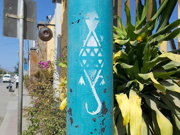 TTのワニの絵柄は街中でもよく目にした。