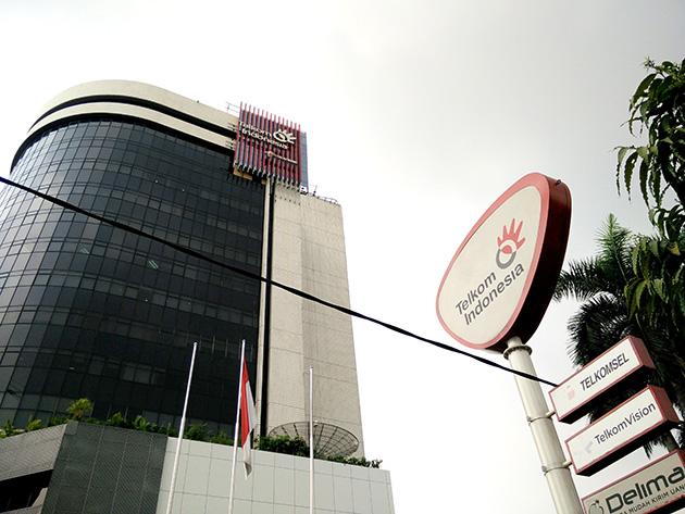 インドネシアの首都・ジャカルタにあるTELKOMの拠点。