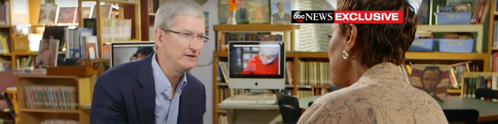 Tim Cook Interview | iPhone AirPods, Classroom Tech [EXCLUSIVE](ABC News)