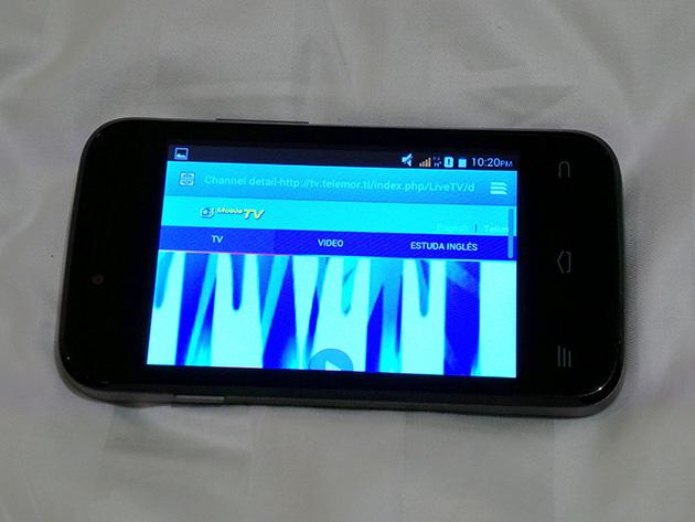 VTLはMobile TVとして動画配信サービスを提供し、VTLのネットワーク利用時のみ視聴可能だ。