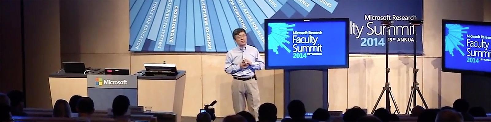 Harry Shum: Faculty Summit 2014 Keynote(Microsoft Research)