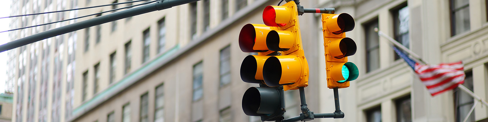 米国 交通信号