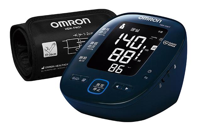 ヘルスケア機器連携で対応するオムロンの家庭用血圧計「HEM-7281T」