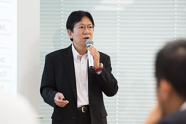 平山 信彦氏(株式会社内田洋行 執行役員 知的生産性研究所所長)