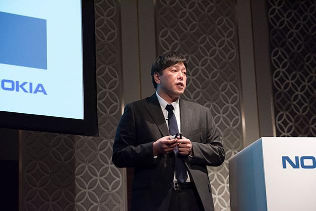 ノキアソリューションズ&ネットワークス株式会社テクノロジー統括部長の柳橋達也氏