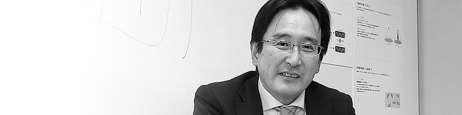 オプテックス株式会社R&D戦略部部長 中村明彦氏
