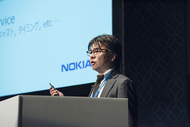 ノキアIP/Opticalネットワーク IPルーティング 本部長の鹿志村康生氏