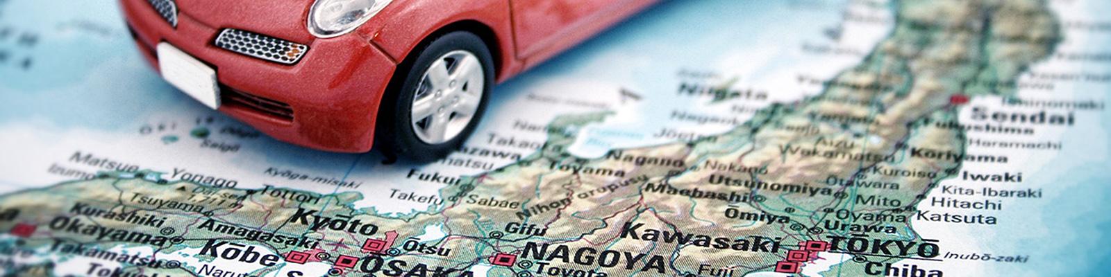 自動車 地図 イメージ