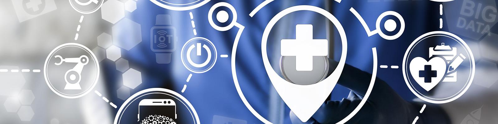 医療 IoT イメージ
