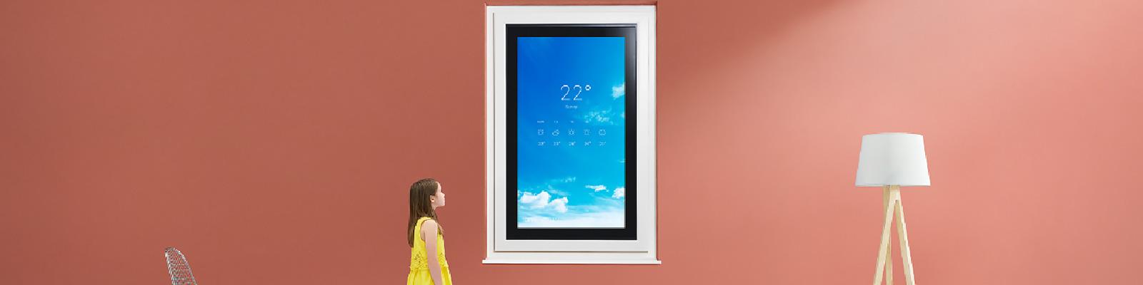 「未来窓」のプロトタイプ YKK AP