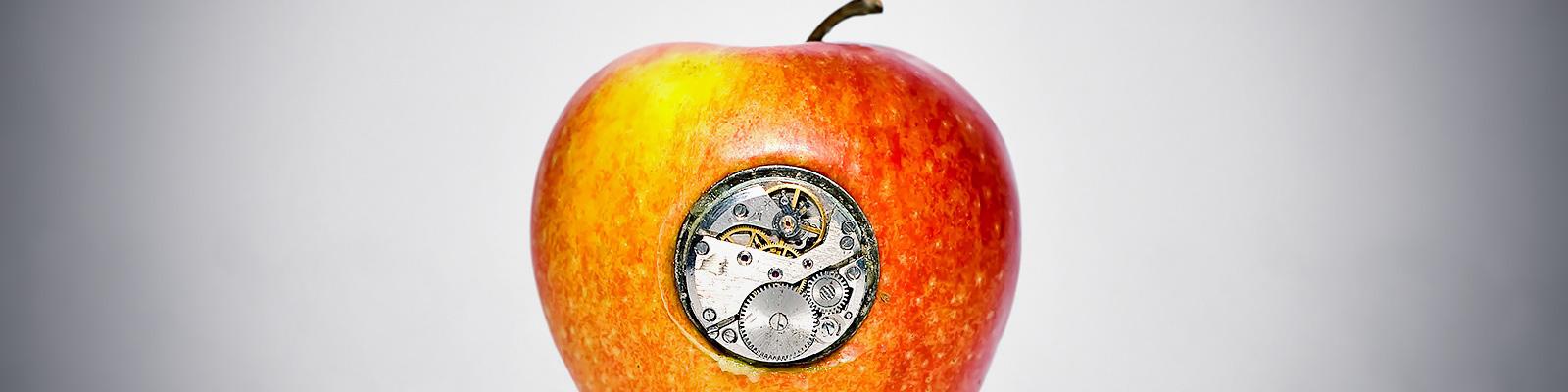 アップル 機械 イメージ