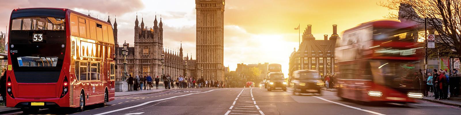 ロンドン タクシー イメージ