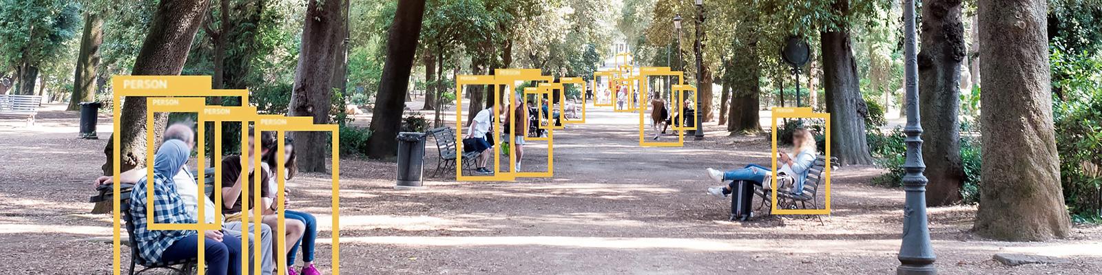AI 認識 公園 イメージ