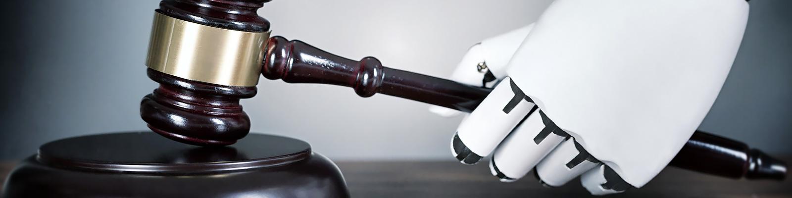 ロボット 裁判 イメージ