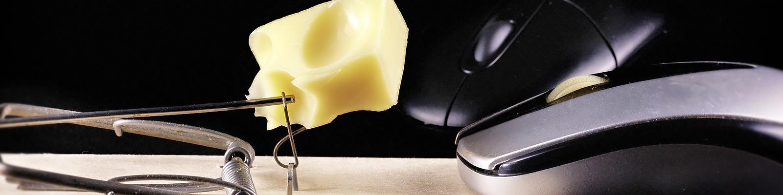 クリックベイト マウス 罠 イメージ