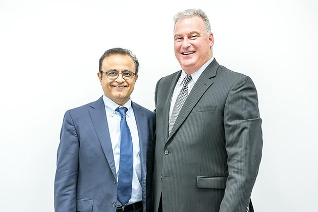 Sandvine Chief Executive Officer Lyndon Cantor/Samir Marwaha(Chief Marketing Officer)