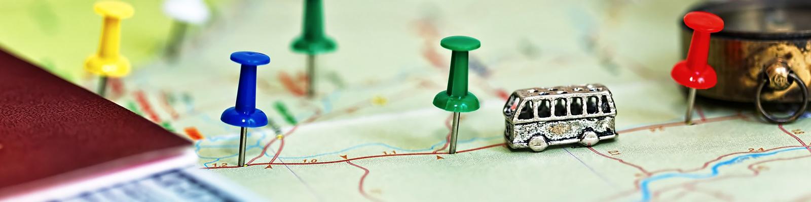 バス 地図 イメージ