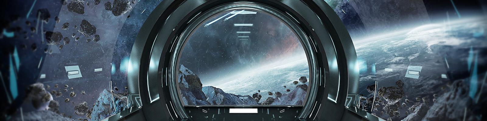 宇宙ステーション イメージ