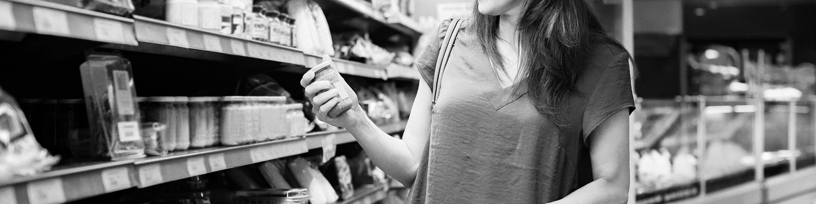 スーパーマーケット 食品 ラベル イメージ