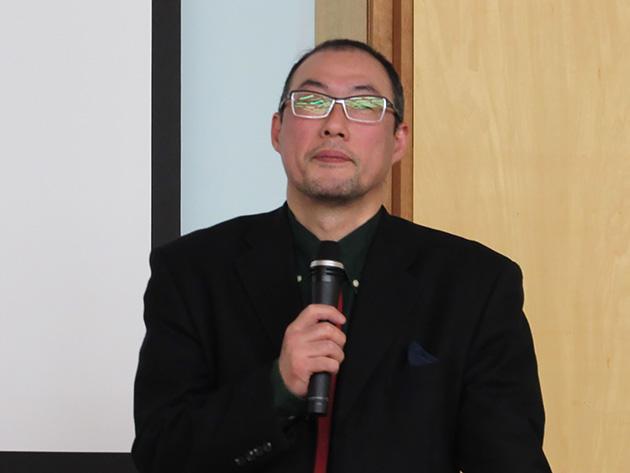 メディアオフィス アトリエ・マ・ヌゥー舎 主宰 兼 東北工業大学 講師の力丸萠樹(もえき)氏