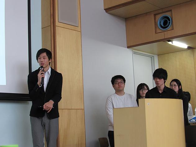 東北工業大学 カカオ100%チームの皆さん。