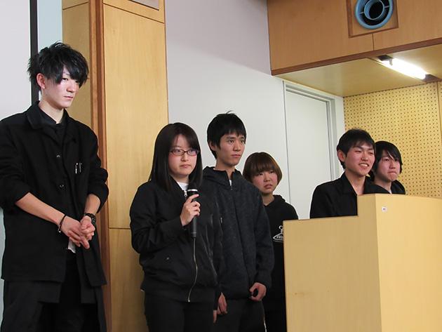 東北工業大学 Team takkunの皆さん。