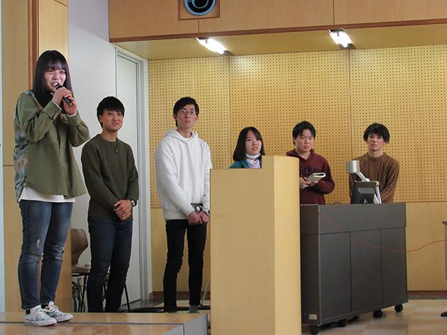 東京から参加した玉川大学 小酒井ゼミの皆さん。
