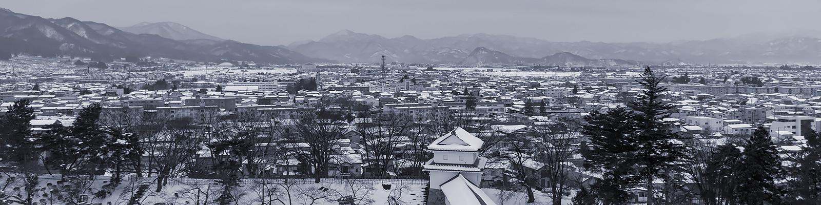 会津若松 冬 イメージ
